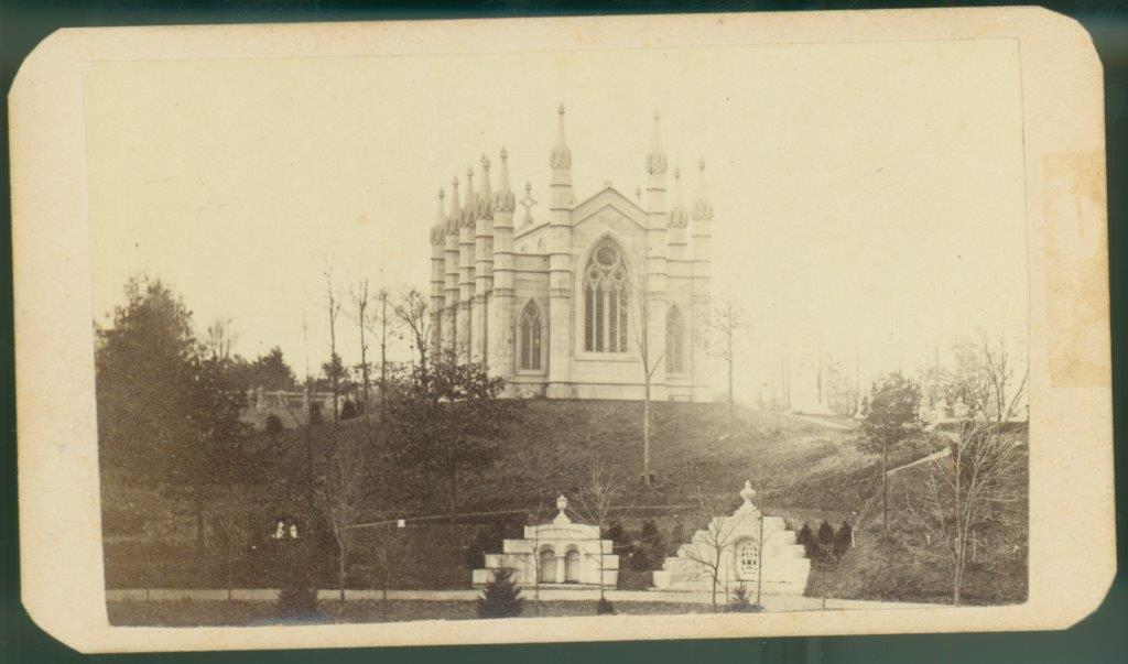 Bigelow Chapel Carte-de-visite, c. 1860 G. K. Warren