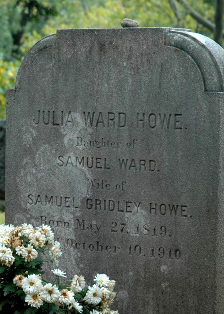 Julia Ward Howe Monument