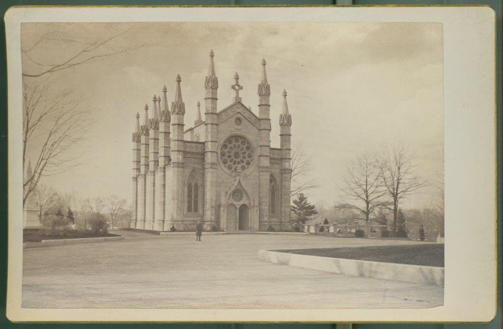 Bigelow Chapel Cabinet Card, c. 1880